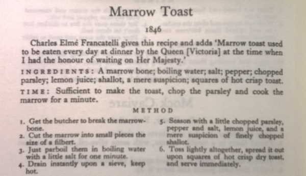 Persephone Books Marrow Toast 2